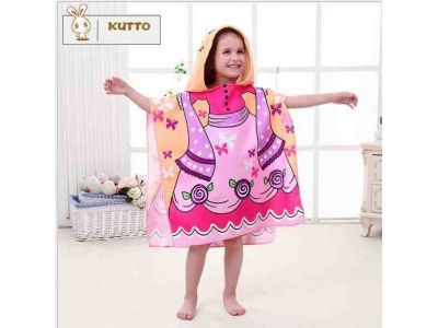 Пляжное полотенце пончо - Принцесса купить в интернет-магазине «Берегиня» Украина