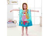 Пляжное полотенце пончо - Русалка купить в интернет-магазине «Берегиня» Украина
