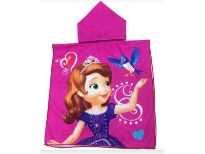 Пляжное полотенце пончо - София купить в интернет-магазине «Берегиня» Украина