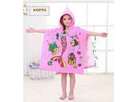 Пляжное полотенце пончо - Розовая русалка купить в интернет-магазине «Берегиня» Украина