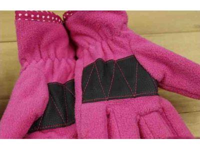 Перчетки из флиса с полярным утеплителем Thinsulate розовые 3-6 лет купить в интернет-магазине «Берегиня» Украина