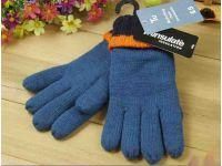 Перчетки вязаные с полярным утеплителем Thinsulate синие 3-6 лет купить в интернет-магазине «Берегиня» Украина