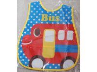 Слюнявчик с карманом - Автобус купить в интернет-магазине «Берегиня» Украина