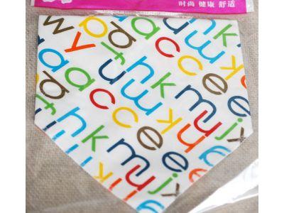 Слюнявчик, нагрудник, арафатка на кнопке - Буквы купить в интернет-магазине «Берегиня» Украина
