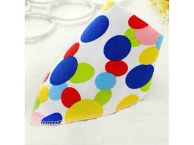 Слюнявчик, нагрудник, арафатка на кнопке - Цветные кружки купить в интернет-магазине «Берегиня» Украина