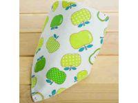 Слюнявчик, нагрудник, арафатка на кнопке - Зеленые яблоки купить в интернет-магазине «Берегиня» Украина