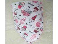 Слюнявчик, нагрудник, арафатка на кнопке - Пирожено купить в интернет-магазине «Берегиня» Украина