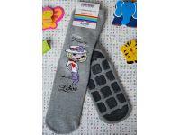 Носочки детские антискользящие махровые Meritex серые размер 35-40 купить в интернет-магазине «Берегиня» Украина