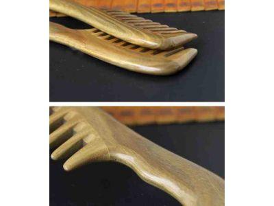 Расческа из сандалового дерева широкие зубцы купить в интернет-магазине «Берегиня» Украина