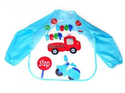 Фартук с рукавами - Машина на голубом купить в интернет-магазине «Берегиня» Украина