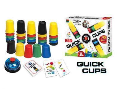 Настольная игра QUICK CUPS - Скоростные колпачки (Speed cups) купить в интернет-магазине «Берегиня» Украина