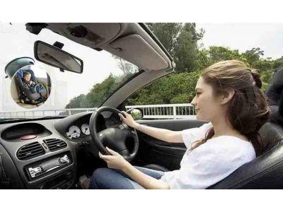 Автомобильное зеркало для присмотра за ребенком круглое купить в интернет-магазине «Берегиня» Украина