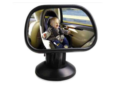 Автомобильное зеркало для присмотра за ребенком прямоугольное маленькое купить в интернет-магазине «Берегиня» Украина