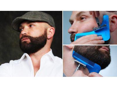 Расческа для моделирования бороды The Beard Shaper купить в интернет-магазине «Берегиня» Украина