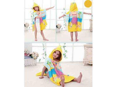 Пляжное полотенце пончо - Девочка купить в интернет-магазине «Берегиня» Украина