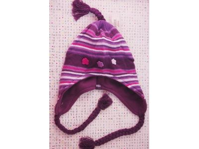 Детская вязаная шапка с флисовой подкладкой HOT PAWS one size - №81 купить в интернет-магазине «Берегиня» Украина