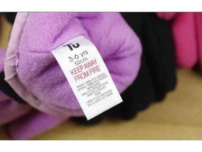 Перчетки из флиса на липучку с полярным утеплителем Thinsulate черные с серой окантовкой 3-6 лет купить в интернет-магазине «Берегиня» Украина