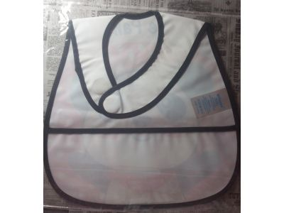 Слюнявчик с карманом - Клубника купить в интернет-магазине «Берегиня» Украина