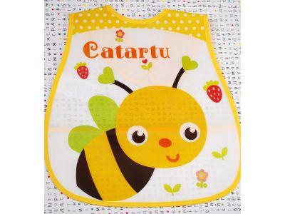Слюнявчик с карманом - Пчелка купить в интернет-магазине «Берегиня» Украина