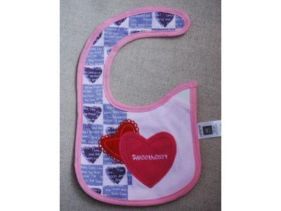 Слюнявчик Carter´s (картерс) - Сердца купить в интернет-магазине «Берегиня» Украина