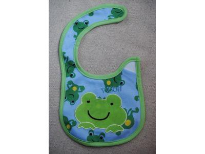 Слюнявчик Carter´s (картерс) - Зеленая лягушка купить в интернет-магазине «Берегиня» Украина