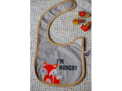 Слюнявчик Carter´s (картерс) - I`m hungry купить в интернет-магазине «Берегиня» Украина