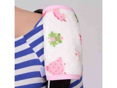 Накладки для сосания на лямки к рюкзака цветные на кнопках - Розовые купить в интернет-магазине «Берегиня» Украина
