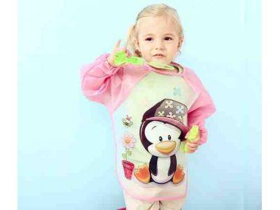 Фартук с рукавами - Розовый купить в интернет-магазине «Берегиня» Украина