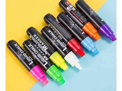 Меловой маркер на водной основе Liquid Chalk 10мм - 1шт купить в интернет-магазине «Берегиня» Украина