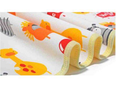 Пеленка непромокаемая двухсторонняя бамбук махра и хлоплок трикотаж - Размер 60*80см купить в интернет-магазине «Берегиня» Украина