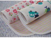 Пеленка двухстороняя хлопок фланель + непромокаемая дышащая мембрана - Размер 70*80см купить в интернет-магазине «Берегиня» Украина
