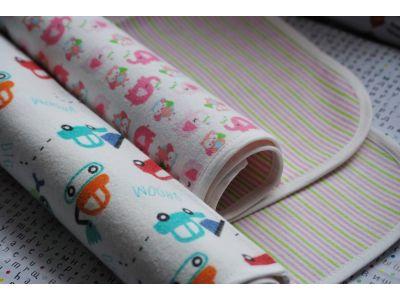 Пеленка двухстороняя хлопок фланель + непромокаемая дышащая мембрана - Размер 70*120см купить в интернет-магазине «Берегиня» Украина