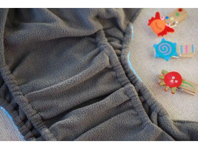Многоразовый подгузник на кнопках с угольным фибром и двойной резинкой купить в интернет-магазине «Берегиня» Украина