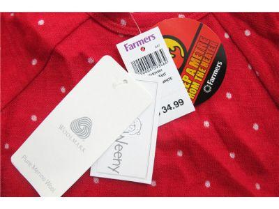 Бодик с длинным рукавом Teeny Weeny чистая шерсть мериноса размер 1год(84см) купить в интернет-магазине «Берегиня» Украина