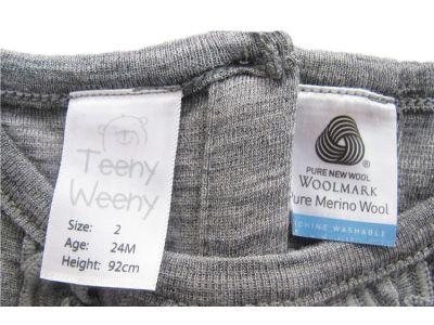 Платье с длинным рукавом Teeny Weeny чистая шерсть мериноса размер 2год(92см) купить в интернет-магазине «Берегиня» Украина