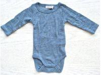 Бодик с руковами Name It чистая шерсть мериноса нежно голубой размер 86 купить в интернет-магазине «Берегиня» Украина