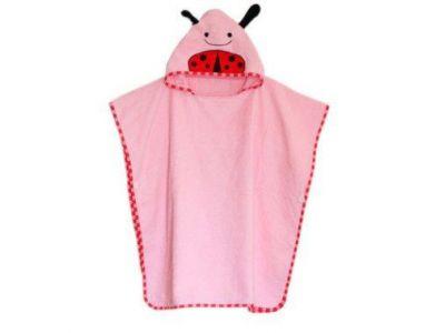 Детское полотенце-накидка пончо (аналог Skip Hop) с капюшоном - Жук купить в интернет-магазине «Берегиня» Украина
