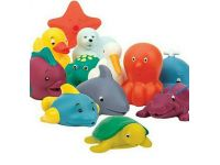 Гумові іграшки для ванної