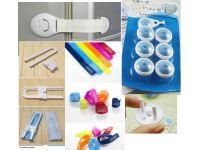 Захист від дітей на кути, ящики, двері, холодильник, розетки